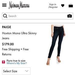 PAIGE Jeans - Paige Hoxton Ultra Skinny High Waist Jeans